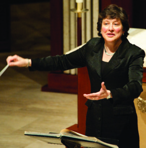 Kathy Romey, conductor